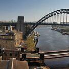 Newcastle Gateshead Panorama by Great North Views