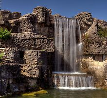 South Marine Park Waterfall by Great North Views
