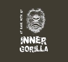 At Ease With My Inner Gorilla Unisex T-Shirt