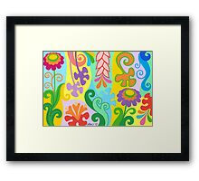 FLOWER DREAM Framed Print