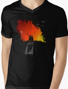 Where the Sidewalk Ends Mens V-Neck T-Shirt