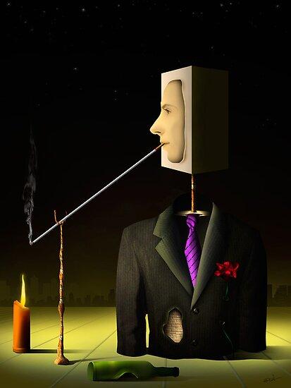 Um Homem na Noite. by Marcel Caram
