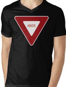 Abide [Tee & Case] Mens V-Neck T-Shirt