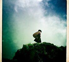 A lady in Peru, South America by tatsuko
