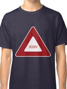Abide - invert Classic T-Shirt