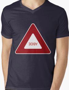 Abide - invert Mens V-Neck T-Shirt