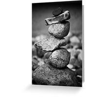 subconscious equilibrium Greeting Card