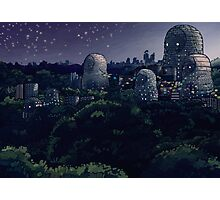 The Magic City - Night Photographic Print