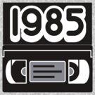 1985 VHS Tape by pinballmap13