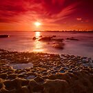 Botany Bay sunset by Erik Schlogl