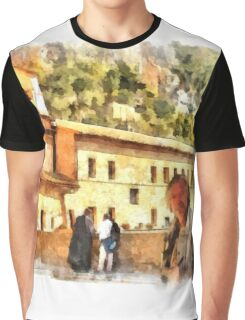 Sacro Speco San Benedetto: selfie Graphic T-Shirt