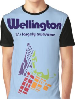 Wellington. It's Largely Awesome Graphic T-Shirt