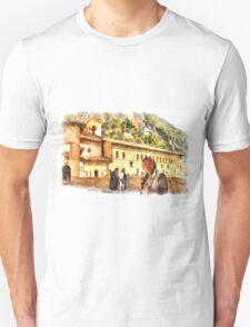 Sacro Speco San Benedetto: selfie Unisex T-Shirt