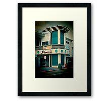 50's Francisco Diner Framed Print