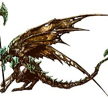 Bell Gargoyle by Wolfighter12