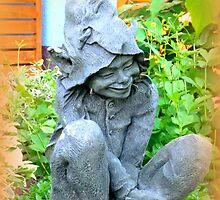 Happy Garden Elf by ©The Creative  Minds