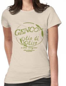 Genco Olive Oil Womens Fitted T-Shirt