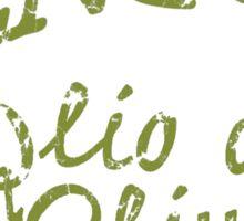 Genco Olive Oil Sticker