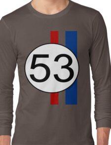 Number 53 Love Bug Long Sleeve T-Shirt