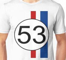 Number 53 Love Bug Unisex T-Shirt