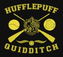 Hufflepuff Quidditch (Yellow) by Lumos ϟ Nox