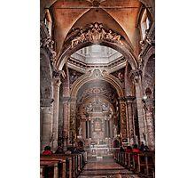 Chiesa dei SS.Vincenzo e Anastasio...church at Fontana di Trevi Photographic Print