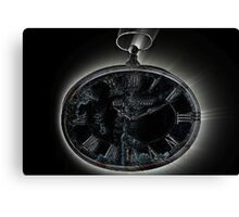 Marked hands of time Canvas Print