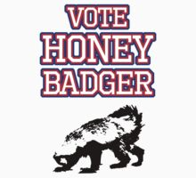 Vote Honey Badger Kids Clothes