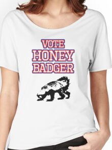 Vote Honey Badger Women's Relaxed Fit T-Shirt