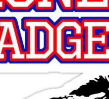 Vote Honey Badger Sticker
