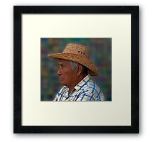 Vaquero Framed Print