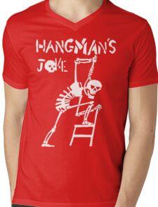 Hangmans Joke Mens V-Neck T-Shirt