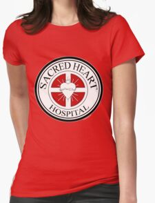 Sacred Heart Hospital Womens Fitted T-Shirt