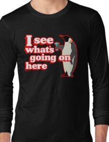 Drunken Penguin Jealousy Long Sleeve T-Shirt