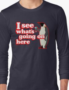 Drunken Penguin Jealousy Long Sleeve T-Shirt