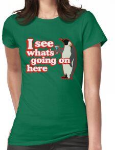Drunken Penguin Jealousy Womens Fitted T-Shirt