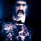 Vintage Man With Flowers by Ryan Jorgensen