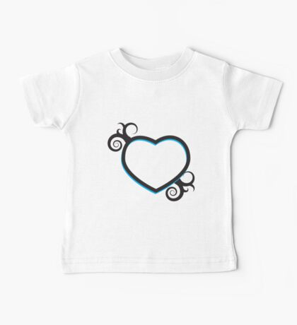 Double Hearts and Swirls Kids Clothes