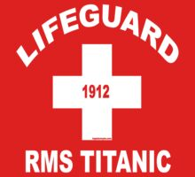 RMS Titanic Lifeguard Kids Clothes