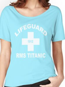 RMS Titanic Lifeguard Women's Relaxed Fit T-Shirt