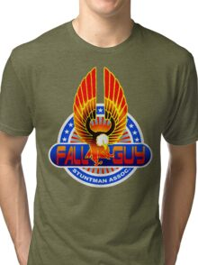 Fall Guy Stuntman Association Tri-blend T-Shirt