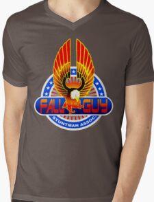 Fall Guy Stuntman Association Mens V-Neck T-Shirt