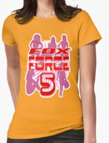 Fox Force 5 Womens Fitted T-Shirt