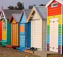 Colourful Boxes by Abby Lewtas