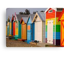 Colourful Boxes Canvas Print
