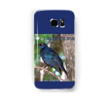 I let go and trust. Samsung Galaxy Case/Skin