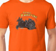 Totally Hairifying :: Black Newfoundland Unisex T-Shirt