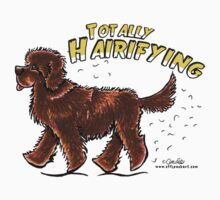 Totally Hairifying :: Brown Newfoundland by offleashart
