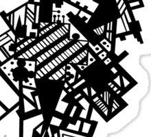 Black Shape Sticker