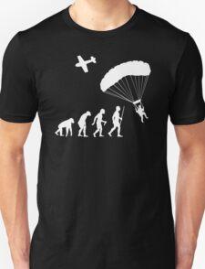 Skydiving Parachute Evolution Shirt T-Shirt